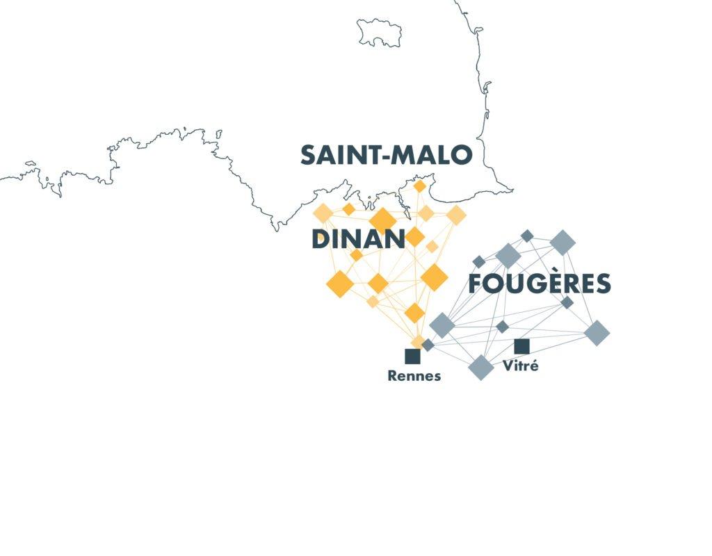 carte de la région d'action d'Atouts
